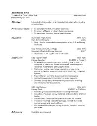 Librarian Resume Sample Library Assistant Resume Example
