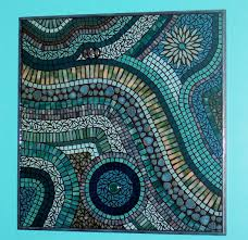 mixed media stained glass mosaic wall art mosaics