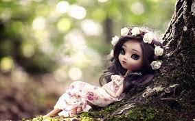 Cute Doll Wallpapers on WallpaperSafari