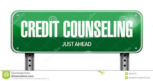 By Design Credit Counseling Credit Counseling Sign Illustration Design Stock Image
