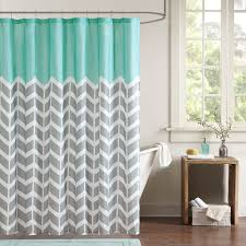 grey chevron shower curtains. Amazon.com: Intelligent Design ID70-365 Nadia Shower Curtain 72x72  Teal,72x72: Home \u0026 Kitchen Grey Chevron Shower Curtains