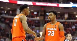 Very Early 2019 20 Syracuse Mens Basketball Depth Chart