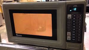 Heavy Duty Microwaves Lot 34 Amana Commercial Microwave Youtube