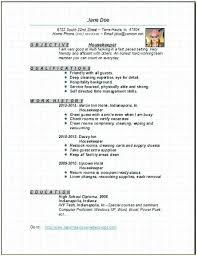 Housekeeping Resume Examples Hospital Housekeeping Resume Sample