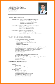 Job Resume For It Job.printable Job Resume Examples No Experience ...