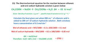 balanced chemical equation for sodium hydroxide and hydrochloric