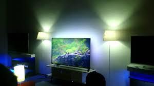 Philips Hue Lighting Youtube Teste Philips Hue Light Smart Tv Ambilight