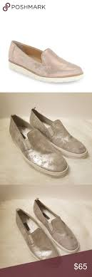 Paul Green Shoe Size Chart Paul Green Winslow Silver Metallic Slip On Sneaker Paul