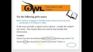 Mla In Text Citations Owl