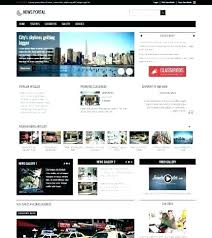 Newspaper Web Template Free News Web Template