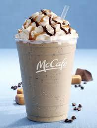 me gusta el cafe de mcdonald s chocolate chip frappe
