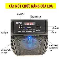 Loa Kẹo Kéo Karaoke Bluetooth Mini MH-33bt