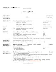 Resume Cv Samples Com Human Resources Manager Cv Example Jobsxs Com