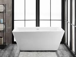 60 x 28 freestanding acrylic soaking bathtub fbt ravenna 6024 ch