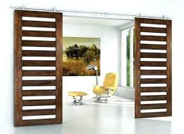 wooden sliding door modern double barn hardware for wood bottom track doors internal nz faux shutters