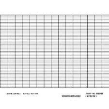 Fuji Pex00dl1 5000b 100 Mm Strip Chart Recorder Paper 6 Pk