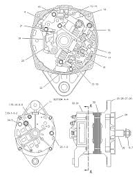 Alternator gp charging caterpillar sis spare parts wiring diagram