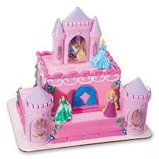 Amazoncom Cakedrake Princess Castle Case Ariel Cinderella Sleeping
