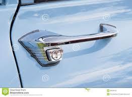 exterior car door handles. Door Handle Of A Blue Vintage Car Stock Photo Image 36236152 With Regard To Proportions 1300 Exterior Handles
