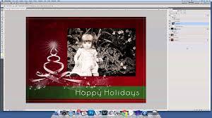 Psd Christmas Card Templates Eliolera Com