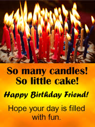 birthday cake with many candles. Interesting Candles So Many Candles Funny Birthday Card For Friends For Cake With Candles D