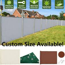 hdpe waterproof screen fence fencing