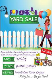 Moving Sale Flyer Community Garage Sale Flyer Templates Yard
