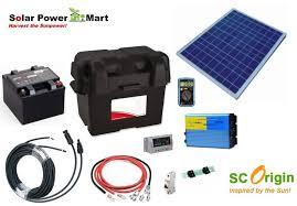 50w diy solar power generator kit