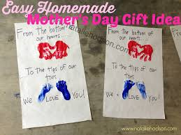 baby gifts mothers day gift easy homemade idea natalie hodson picture high presents from daughter