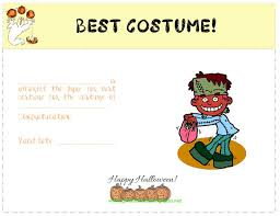 Costume Contest Certificate Template 28 Images Of Funniest Costume Contest Certificate Template