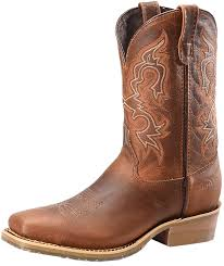 Light Brown Square Boots