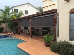 large heavy duty outdoor solar shades