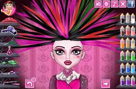 monster high real haircuts s game