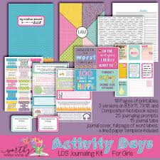 is journaling a word activity days lds scripture journal kit worthy written words