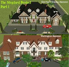 Mod The Sims   The Stepford Project I  Mansions by D D I
