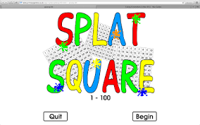 One Hundred Chart Interactive Splat Interactive 100s Chart Teaching Special Thinkers