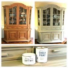 cream colored china cabinet china cabinet chalk paint makeover cream colored china cabinets