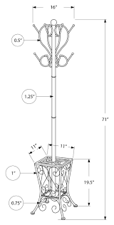Modern Black Coat Rack Racks Ideas Wonderful Coat Rack With Umbrella Stand Elegant 87