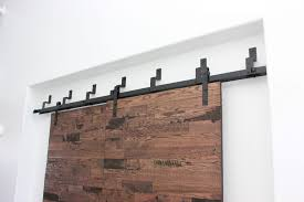 bypass barn door hardware. Image Of: Bypass Barn Door Hardware Black