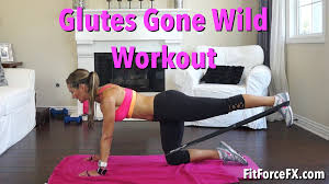 glutes gone wild resistance band leg booty workout lift gluteworkout brazillianworkout you
