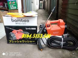Bán máy rửa xe mini gia đình Bamboo 1800w mô tơ dây đồng giá rẻ nhất thị  trường