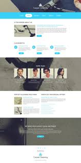 Carpet Cleaning Website Design Website Template 55239 Carpet Cleaning Company Custom