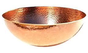 copper bowl sink. Fine Copper Copper Bowl Sink Home And Furniture Triple Pertaining To Plan Bathroom Oval  Bucket Vessel Sinks Direct For Copper Bowl Sink V