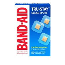 <b>Band</b>-<b>Aid Clear</b> Spot Bandages - 50ct : Target