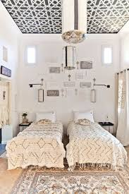 Neutral Moroccan Double Bed Ideas