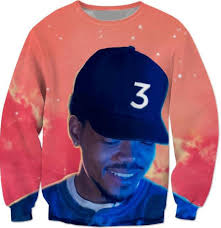chance the rapper the coloring book incredible por chance the rapper sweatshirt red e crewneck cal