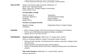How To Wright Resume How To Write A Simple Resume For Highschool Student Combination 23