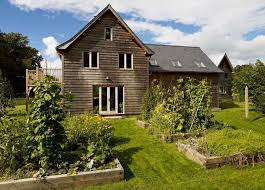 low cost self build timber cladding build home cotswold
