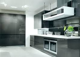 modern grey kitchen cabinets design house upper light