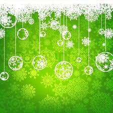 Beautiful Green Happy Christmas Stock Vector Colourbox